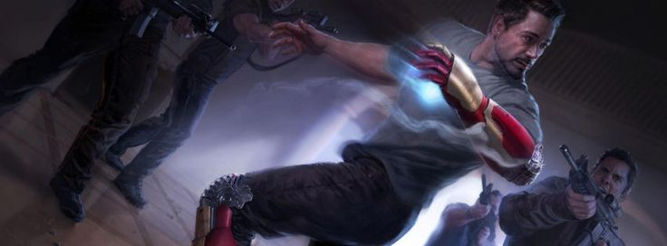 Iron man 3 concept facebook cover