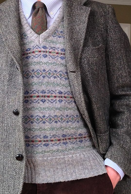 Shetland Wool Fair Isle Sweaters | Her Sweater