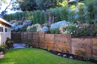 Wood Retaining Wall, we have this great idea for planting