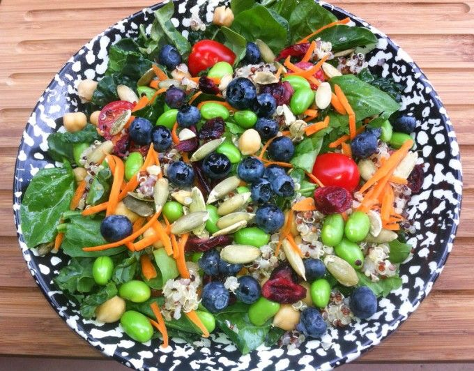 Kale superfoods salad | Simple Healthy Kitchen