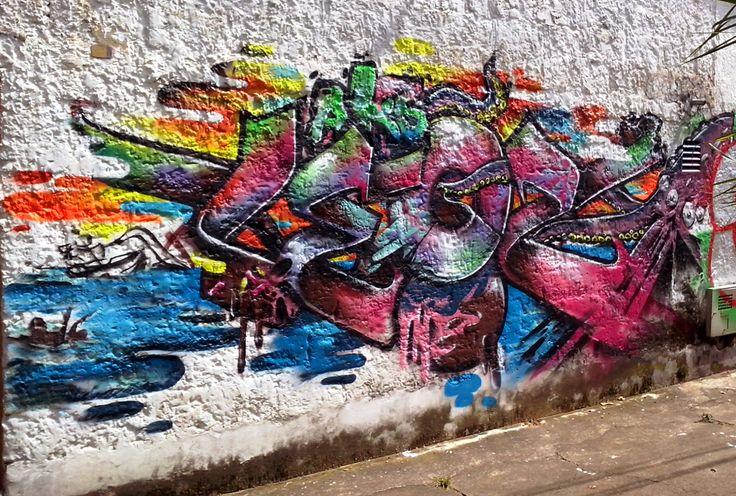 #STREETART ¡Que Poder! Leo Dos Aks Puro talento local señores! :) www.voltta.com.co