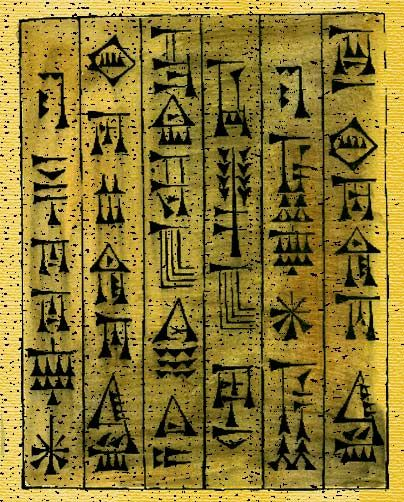 the history of writing in mesopotamia and egypt That the earliest evidence for writing in egypt has been discovered throughout later egyptian history mathematics in egypt and mesopotamia - annette imhausen.