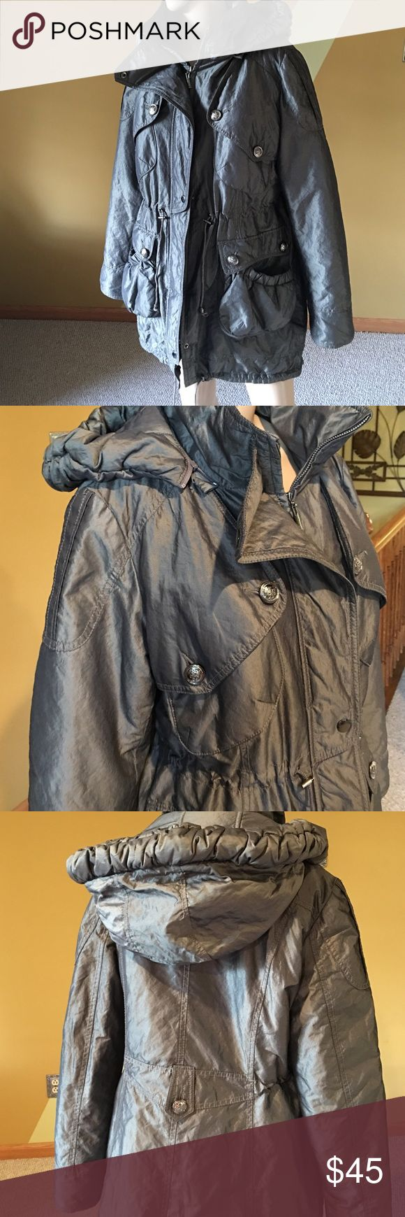 Laundry Jacket Gray winter jacket in excellent condition Laundry by Shelli Segal Jackets & Coats Puffers