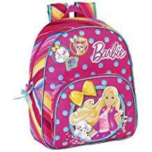 BARBIE kleiner Rucksack Tasche 26 x 34 x 10 cm Schulrucksack