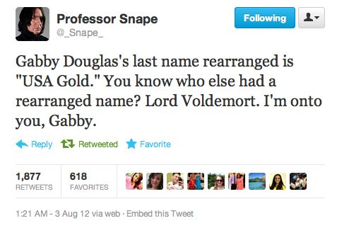 Hahaha Internet Site, Severus Snape, Gabby Douglas, Laugh,  Website, Funny Pics, Web Site, Funny Stuff, Harry Potter