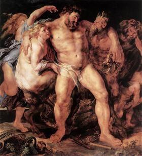 The Drunken Hercules - Peter Paul Rubens