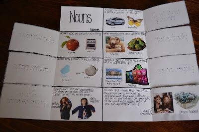 """nouns for notebooking...click on """"what we've been up to""""...may not do this high level and may not do foldable but like categories -esp. singular, plural, common and proper"""