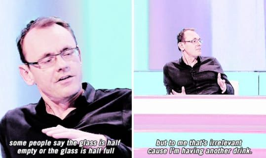 When Sean Lock destroyed one of life's classic riddles.