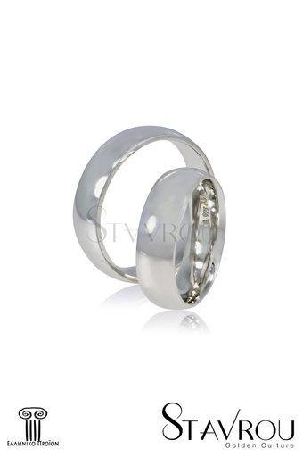 βέρες γάμου, αρραβώνα, ασημένιες 925' στα 6,00 mm / SV3 logo #βέρες_γάμου #βέρες_αρραβώνων #κοσμήματα_χαλάνδρι