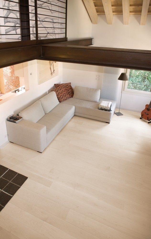 Canadian hard maple flooring