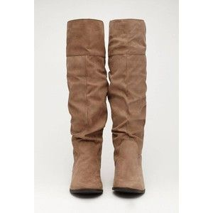 Tall Faux Suede Boots