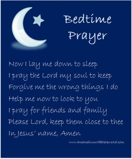 8 Nice and Easy Christian Bedtime Prayers to Teach Your ...