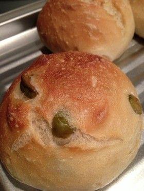 手ごねで☆カリッとオリーブパン by mkmky [クックパッド] 簡単おいしいみんなのレシピが270万品