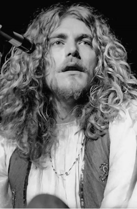 Robert Plant. The greatest male voice, and definitely the front man with the  best hair, in rock and roll.