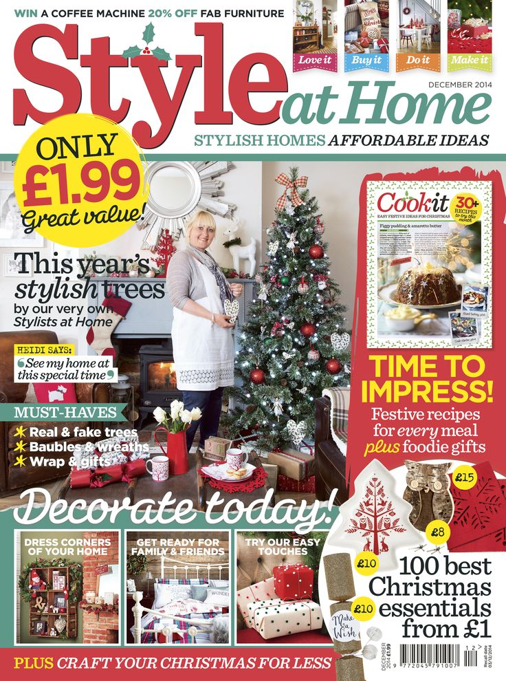Style at Home December 2014 @styleathomemag @dunelmuk