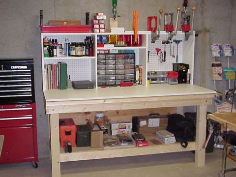 Reloading Bench Project