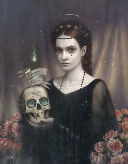 Beauty! Tom Bagshaw is amazing...    tom bagshaw blog: Memento Mori...