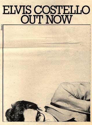Elvis Costello - My Aim Is True Press Advert 1
