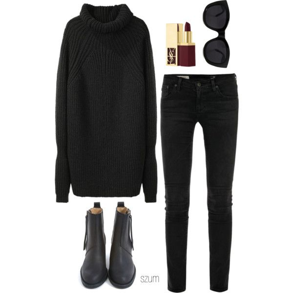 78 by szum on Polyvore featuring polyvore, fashion, style, 3.1 Phillip Lim, AG Adriano Goldschmied, Acne Studios, Le Specs and Yves Saint Laurent