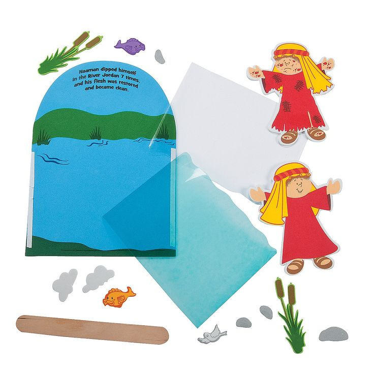 41 best images about church bible naaman on pinterest for Childrens sunday school crafts