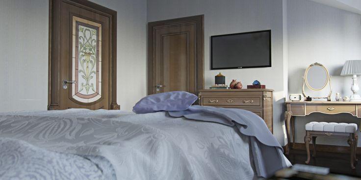 классический дизайн спальни #interiordesign #classicdesign