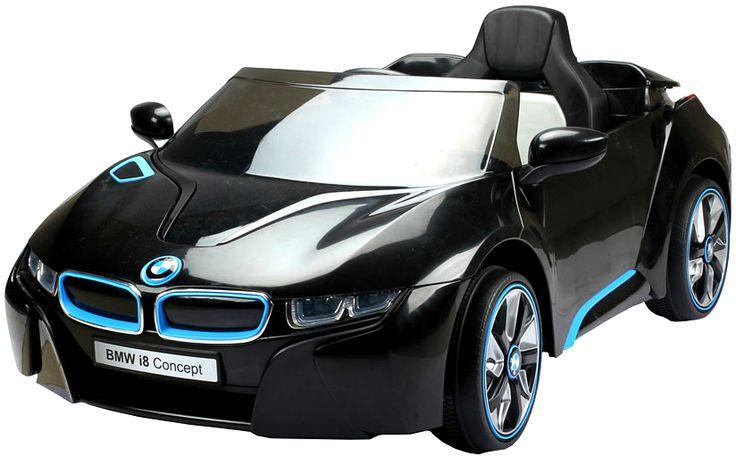 Novinky 2017!!! | elektrické autíčko BMW i8 Concept - čierne,biele,modre | Bábätkovo.eu