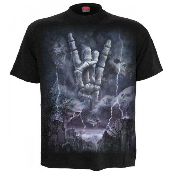 Camiseta Gótica hombre Spiral