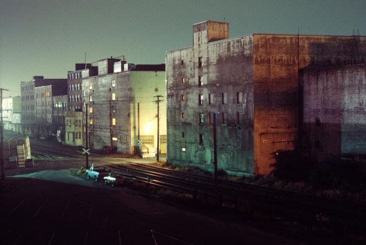 Buildings on Railway Ave, Vancouver. 1975 by Greg Girard