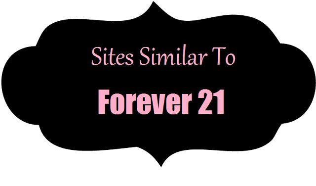 Sites Like Forever 21