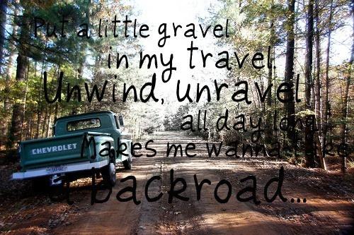 take a backroad <3
