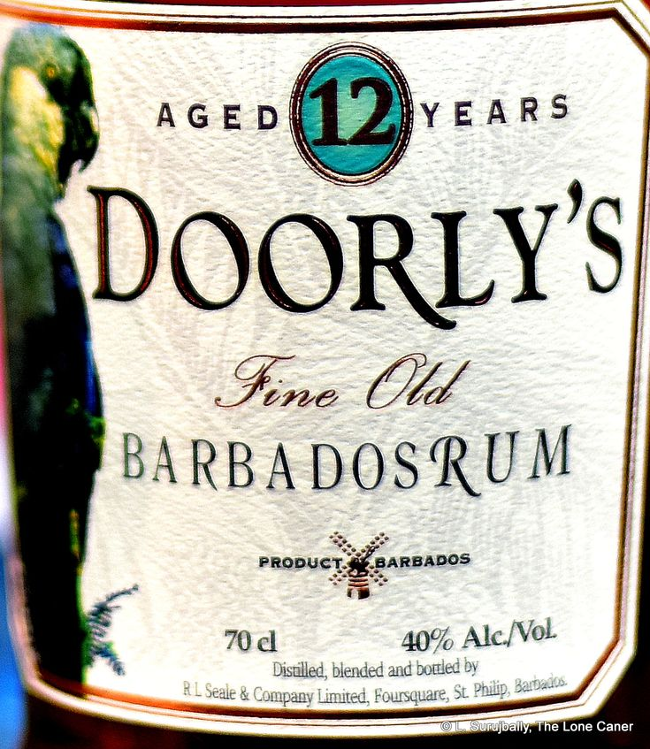 Doorly's 12 Year Old Barbados Rum - Review
