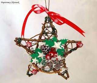 Papierowy Skrawek: Świąteczna dekoracja