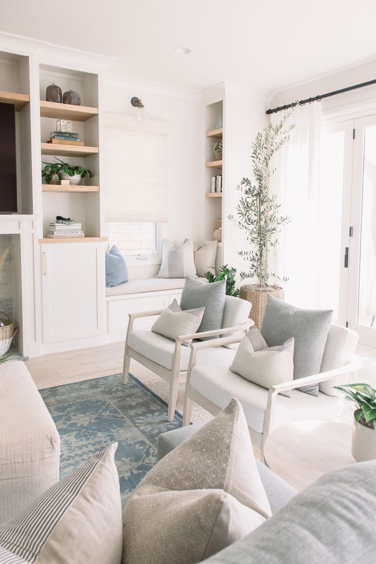Light Bright Airy Living Room Tour Designing Vibes The Happy Housie Ektorp Living Room Living Room Transformation Living Room White