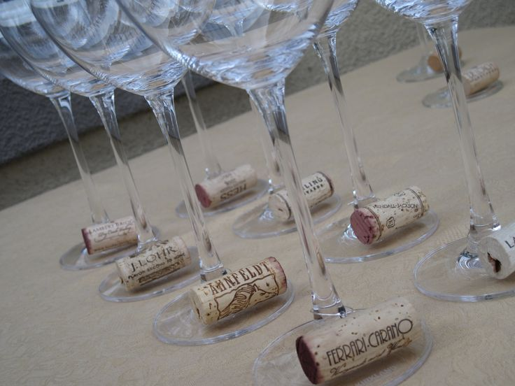 Used Wine Cork Ideas | wine cork tags