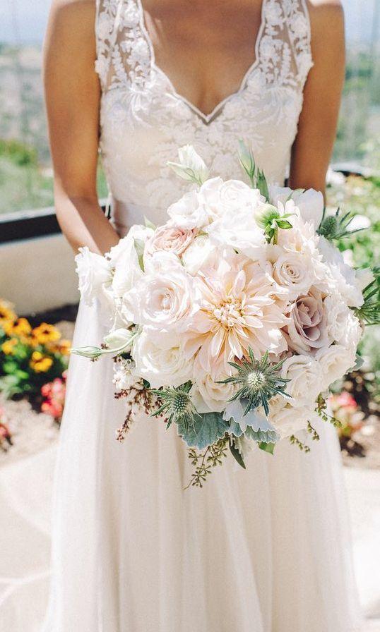 Featured Photographer: Ahava Studios; Wedding bouquet idea.