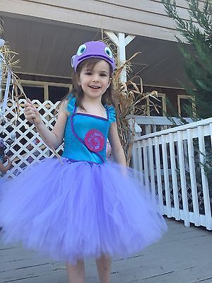 "Boov costume tutu dress Halloween party home movie ""OH inspired"" sizes 2T-Age 6"