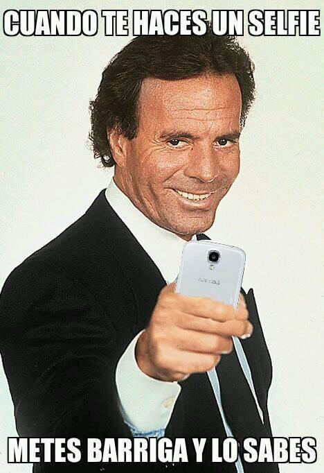 Con la moda de los selfies tiene que estar todo el mundo preparado y monísimo