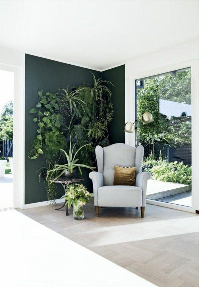 Inspirierende Dekoideen kleiner Innen-Gartenbereich Flat