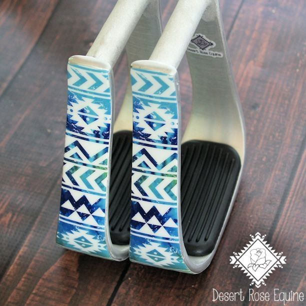 Blue Multi Color Aztec