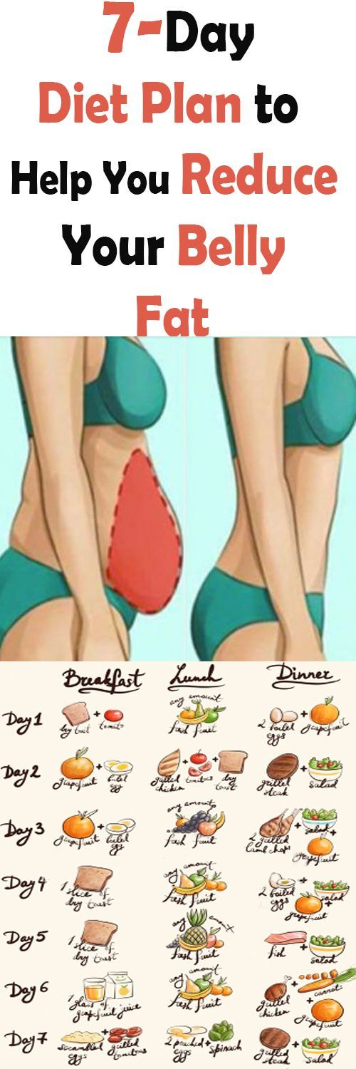 7-Day Flat Belly Diet Plan Can Help Reduce Your Tummy -9335