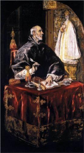 St. Idelfonso - El Greco