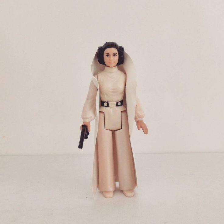 Princess Leia (1977) Una nueva esperanza. A New Hope. Episode IV. Star Wars. The First 12 Figures of Kenner. Vintage.