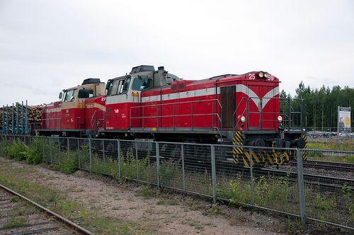 VR (Finish Railways) Diesel Shunters, Hyvinkää, Finland