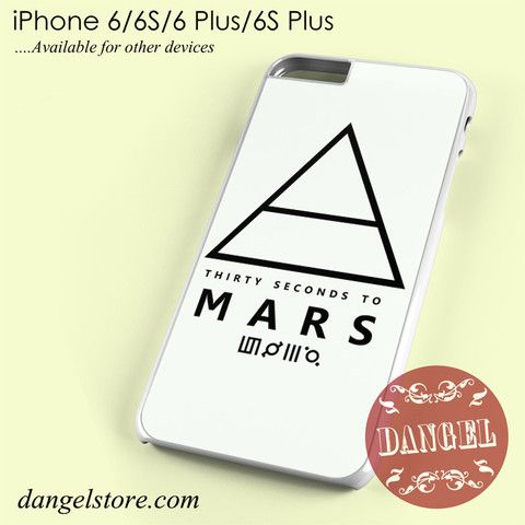 30 Seconds To Mars Logo 1 Phone case for iPhone 6/6s/6 Plus/6S plus