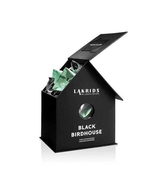 Black birdhouse fra Lakrids by Johan by Bülow