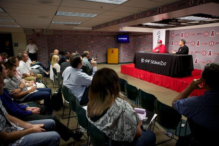 """I Am Second"" video release of Albert Pujols testimony at Angel Stadium"