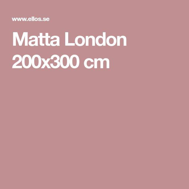 Matta London 200x300 cm