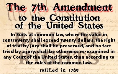 7th Amendment to the U.S. Constitution