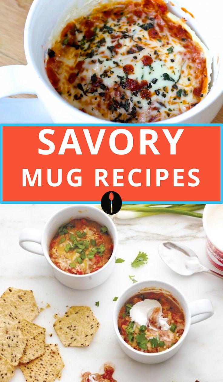 Make dinner less stressful with these easy mug recipes.                                                                                                                                                      More