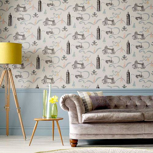 Retro London design love: 11 vintage style wallpapers from Graham and Brown